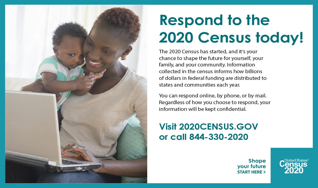 Respond to the 2020 Census Today