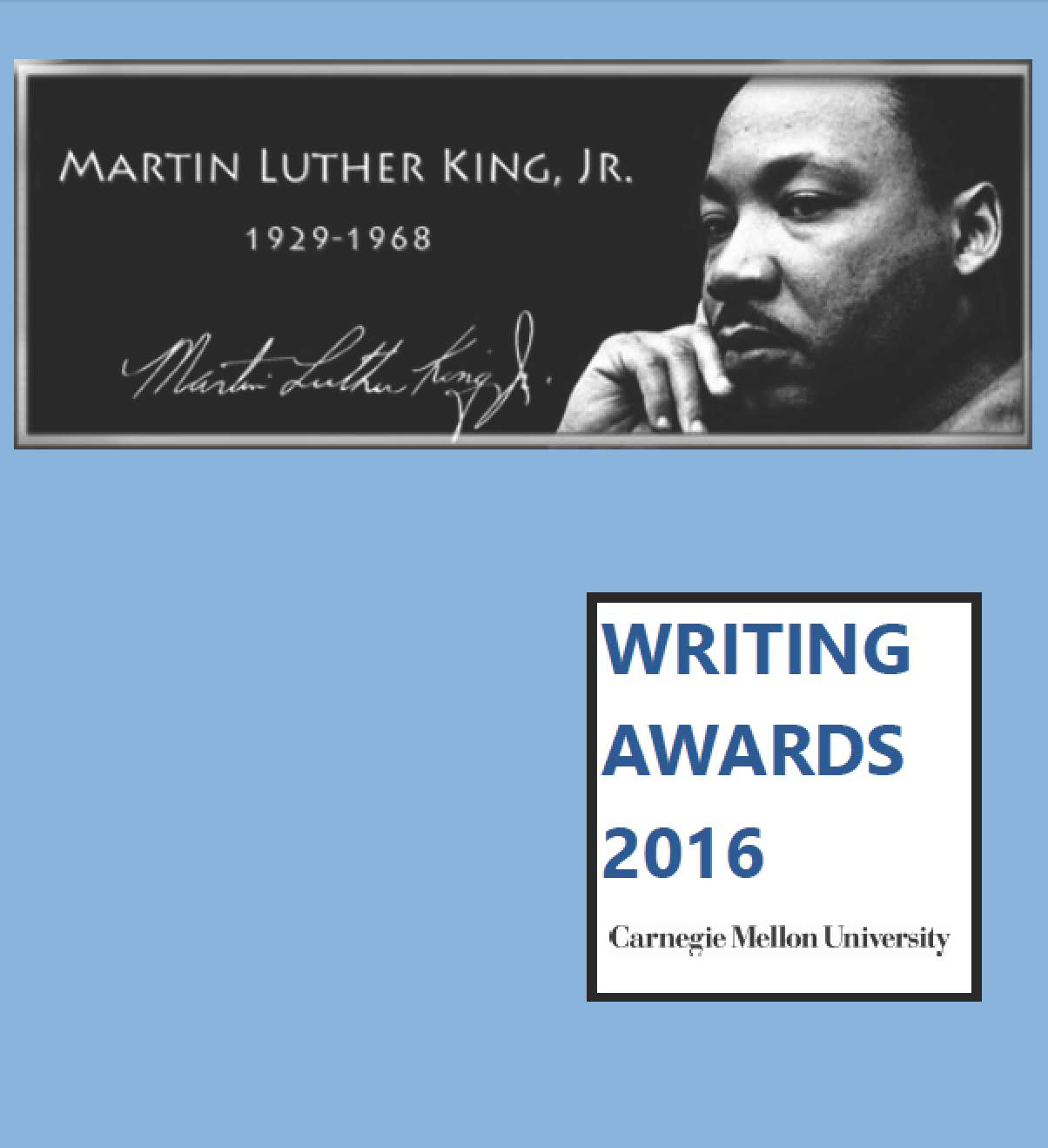 MLK writing awards