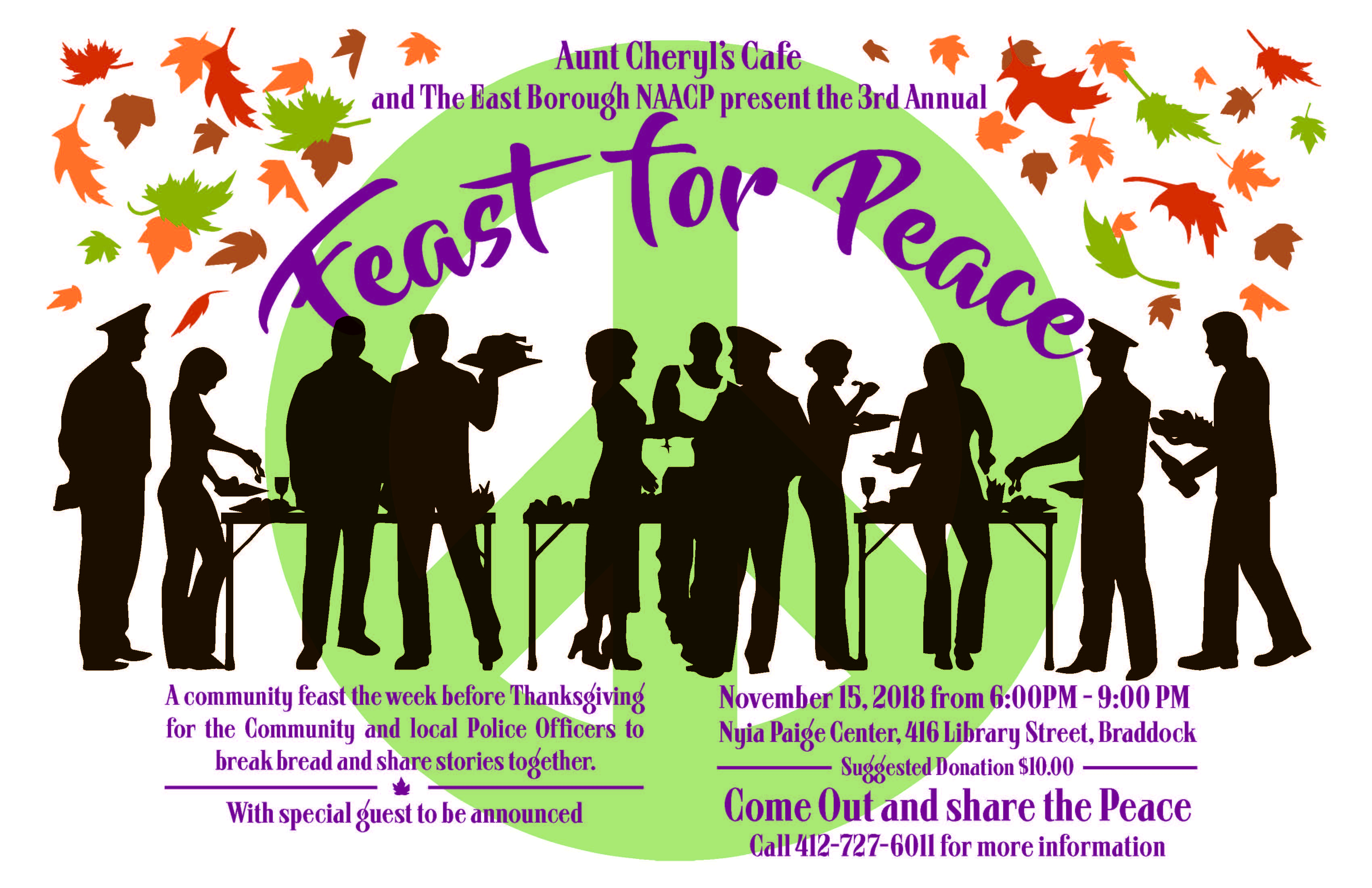 3rd Annual Feast for Peace